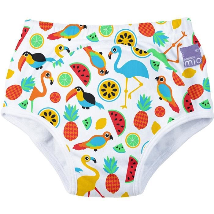 Bambino Mio - Potty - Reusable Potty Training Pants Tropical Island 3+ Years culottes d'apprentissages