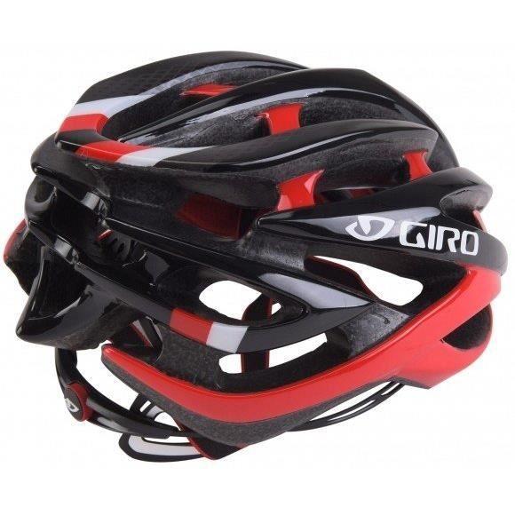 Casque route GIRO Atmos 2 rouge et noir tailles S M ou L