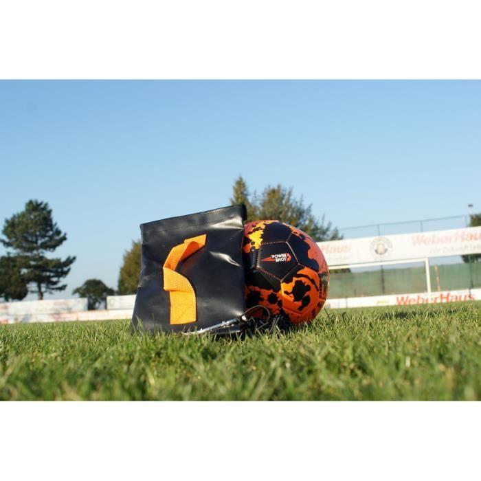 Return ball : ballon avec base à lester - accessoire d'entrainement de football