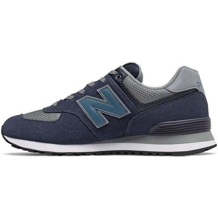 NEW BALANCE Baskets Collection 574 Bleu Mixte