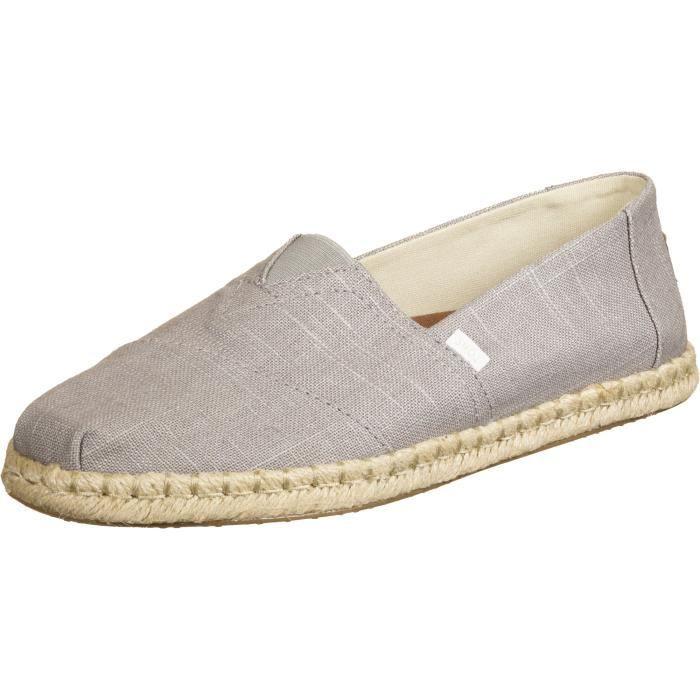 TOMS Dove Linen chaussures CHAUSSURES - ACCESSOIRES>CHAUSSURES DETENTE>ESPADRILLE