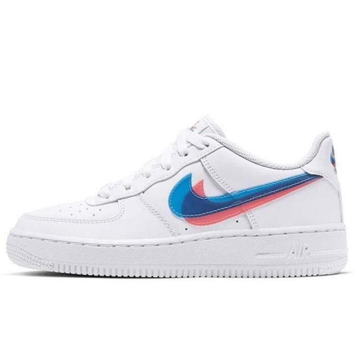Basket Air Force 1 Air Force One AF 1 Low Chaussures de Running Homme Femme BV2551-1100