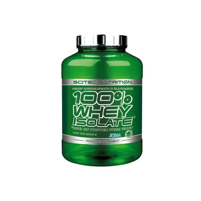 100% Whey Isolate (2kg) Coco Scitec Nutrition
