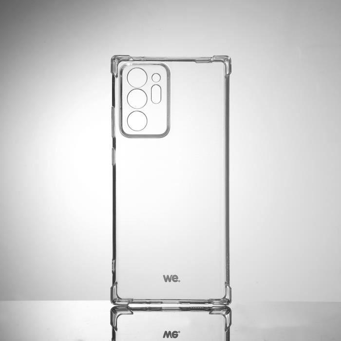 WE Coque de protection transparente pour Samsung Galaxy NOTE 20 ULTRA Fabriqué en TPU. Ultra résistant Apparence du téléphone