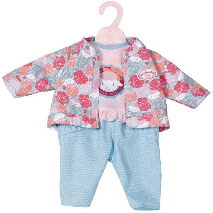 Accessoire pour poupée Zapf Creation 701973-B Baby Annabell Active Jeans Bleu 43 cm