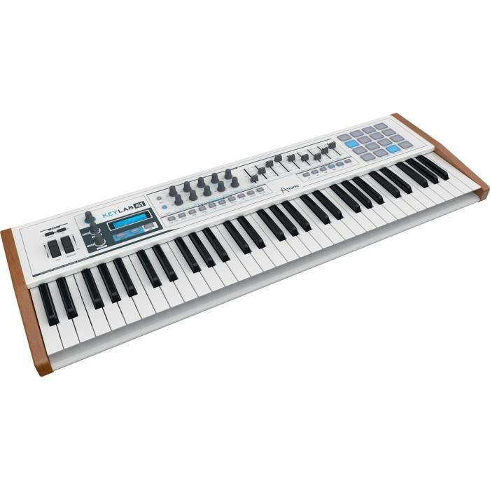 arturia clavier 61 touches analog lab pas cher achat vente pack piano clavier cdiscount. Black Bedroom Furniture Sets. Home Design Ideas