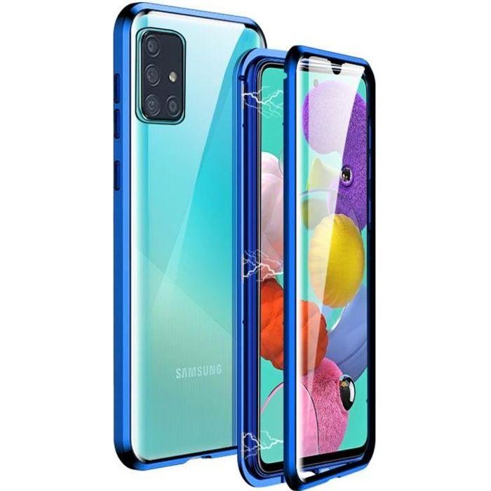 Coque Samsung A51, 360 Degrés Adsorption Magnétiqu