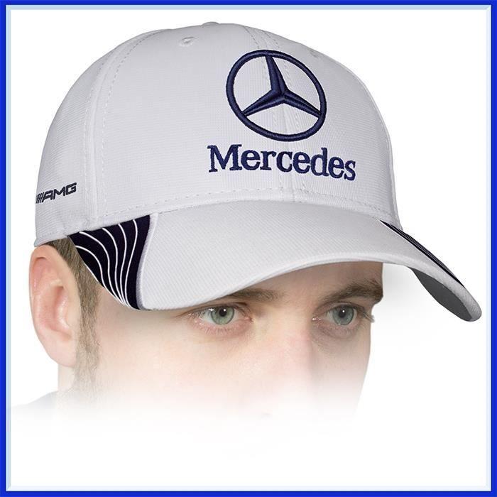 Casquette Mercedes Benz pour voiture sport unisexe