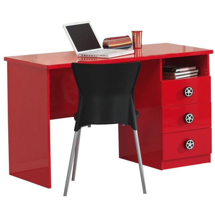 bureau swithome circa rouge achat vente bureau b b enfant cdiscount. Black Bedroom Furniture Sets. Home Design Ideas