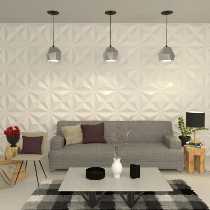 fr/êne blanc 100 x 16,5 cm Decosa Lambris Stockholm = 4m2 PRIX SPECIAL LOT DE 2 SACHETS