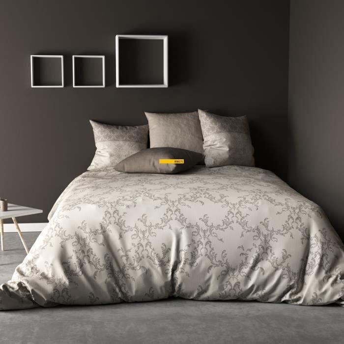 240 x 260 cm Parure de Couette 100/% Coton 57 Fils Mix Jaune