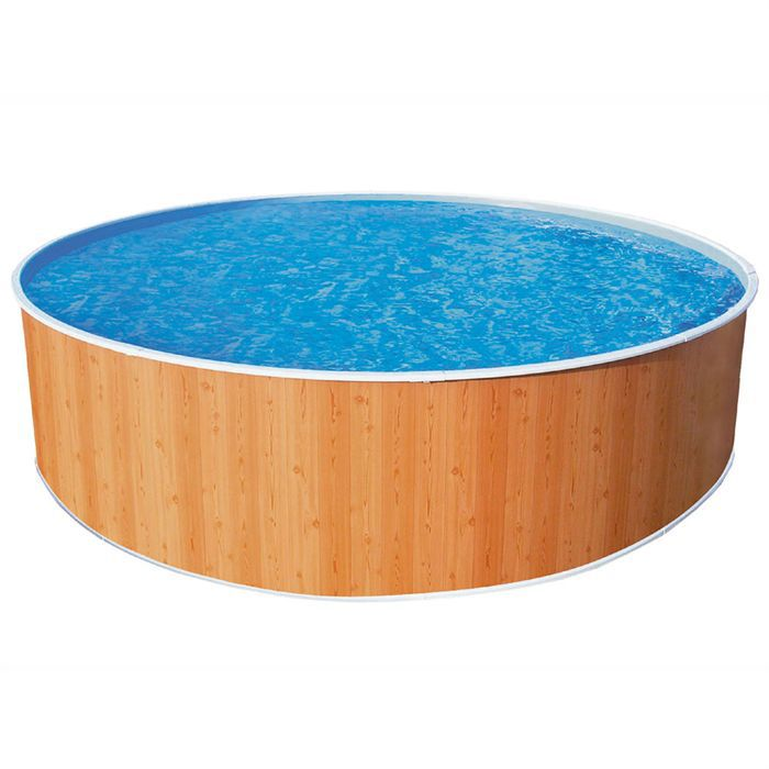 Piscine trigano splasher aspect bois achat for Achat piscine bois