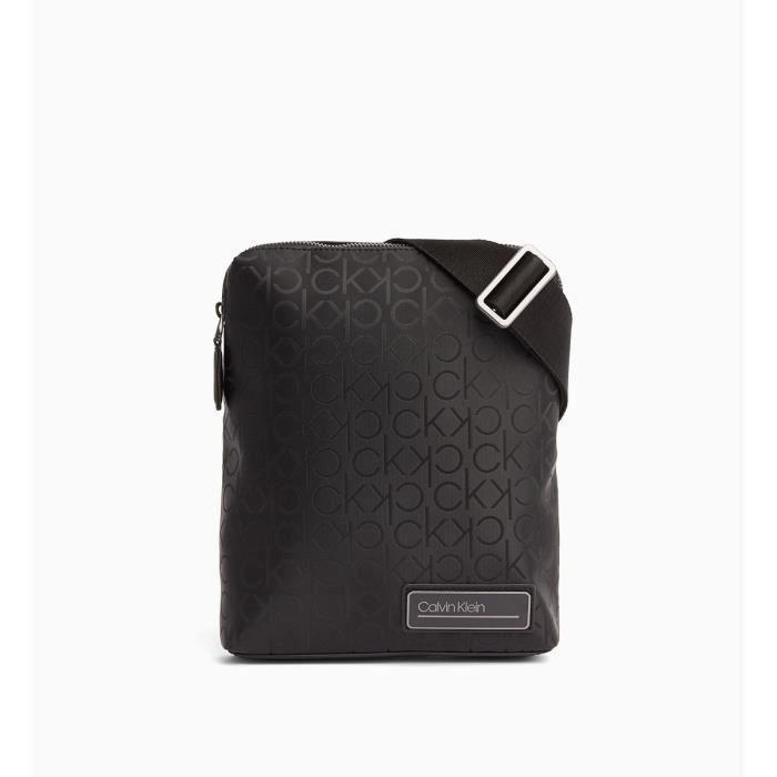 SACOCHE Calvin Klein - Grande sacoche noire homme en simil