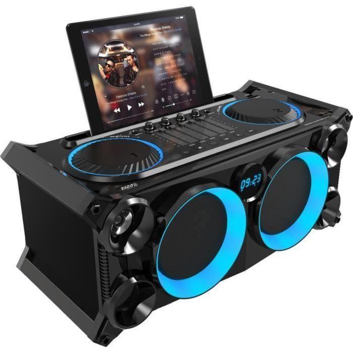 ENCEINTE ET RETOUR IBIZA SPLBOX200-BK Système nomade Soundbox avec US