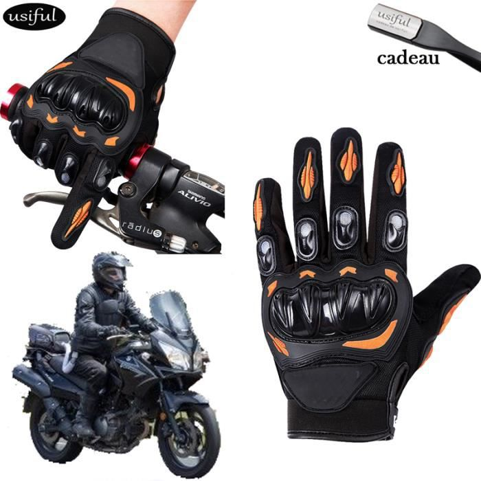 orange gants moto cross vtt pour homme femme gants hommes pour mtb cyclisme v lo gants moto. Black Bedroom Furniture Sets. Home Design Ideas