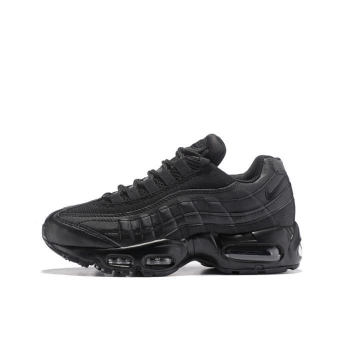 Basket Nike Air Max 95 Chaussures De Course Femme Noir ...
