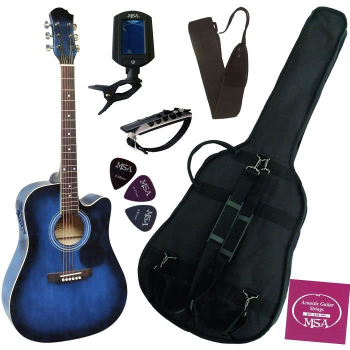guitare electro acoustique pas cher guitare electro acoustique sur enperdresonlapin. Black Bedroom Furniture Sets. Home Design Ideas