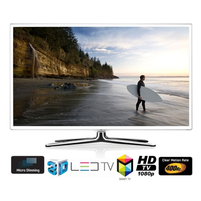 samsung ue46es6710 tv led 3d t l viseur led avis et prix pas cher soldes cdiscount. Black Bedroom Furniture Sets. Home Design Ideas