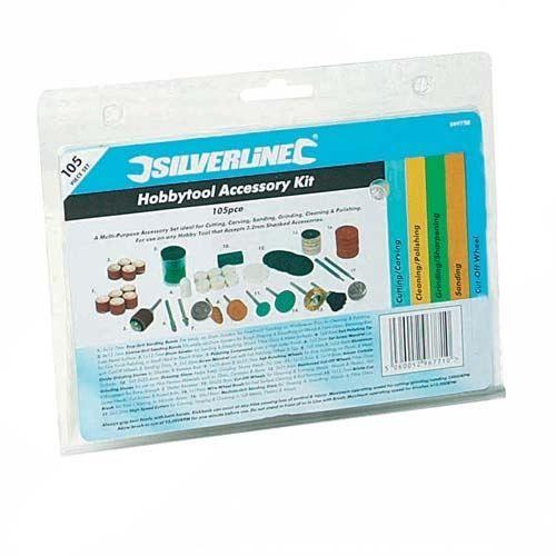 COFFRET CONSOMMABLE Kit de 105 pieces d accessoires pour DREMEL
