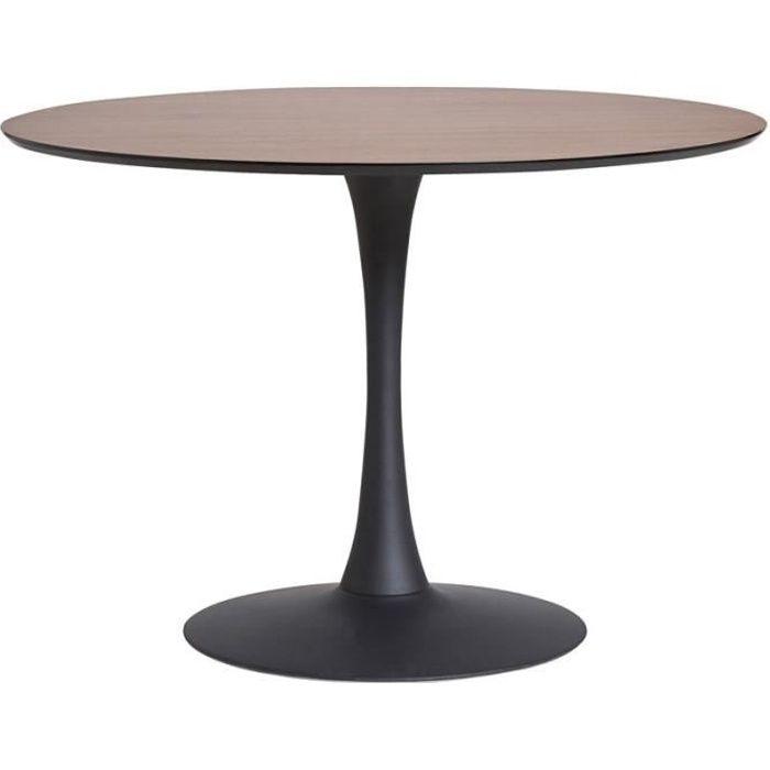 H x pied L NoyerNoir 110 central Table repas 110 ronde x de l STILL 75 nO0PN8wkX