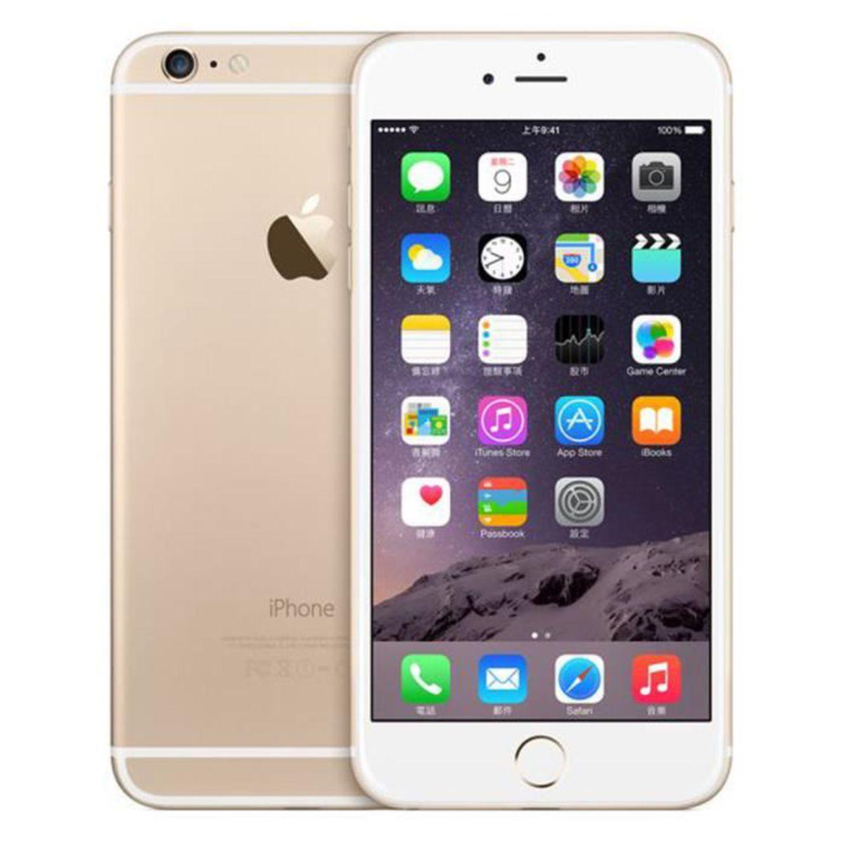SMARTPHONE RECOND. iPhone 6 16GO OR débloqué Grade A+++ remise à neuf