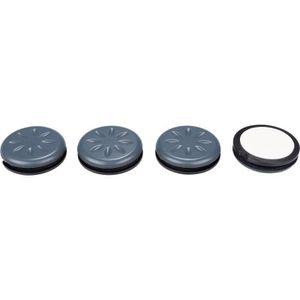 Adsamm Lot de 63 patins en feutre /Ø 30 mm Noir rond 3,5 mm d/épaisseur