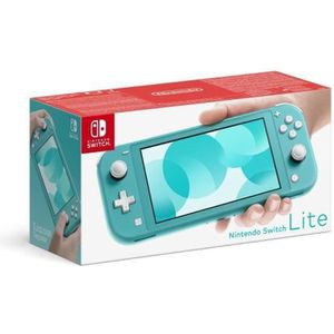 SORTIE CONSOLE NINTENDO SWITCH Console Nintendo Switch Lite Turquoise