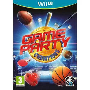 JEU WII U GAME PARTY CHAMPIONS / Jeu console Wii U