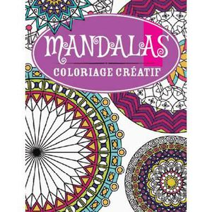 livre de coloriage mandala achat vente livre de. Black Bedroom Furniture Sets. Home Design Ideas