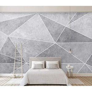 PAPIER PEINT 3D Forme Grise WCA2790 Fond d'écran Mur Peintures