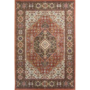 TAPIS A2Z Tapis Pazirik 1555 Traditionnel Terracotta   T