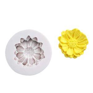 MOULE  Silicone 3D fleur gâteau moule moule à chocolat mo