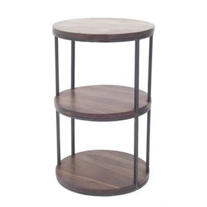 TABLE D'APPOINT Maharadja - Sellette ronde 3 plateaux Dong - Finit
