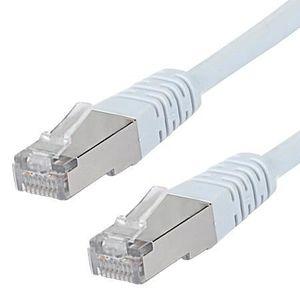CÂBLE RÉSEAU  INECK® 30 Mètres Câble réseau blindé Cat. 5e FTP p