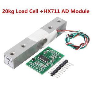 sourcing map /Électronique Balance S Forme Pes/é Cell charge Capteur 50Kg Pack of 1