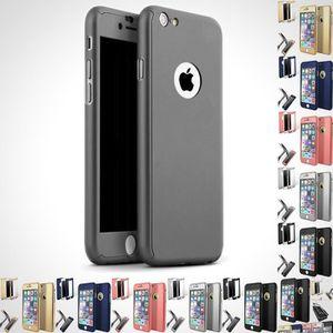 FILM PROTECT. TÉLÉPHONE COQUE HOUSSE ETUI INTEGRALE 360° POUR iPhone 6 Plu