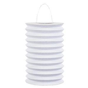 LANTERNE FANTAISIE Lampion en papier blanc - 232545 (Taille Unique)