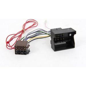 INSTALLATION AUTORADIO Adaptateur de cable autoradio pour Citroen C4/C5/P