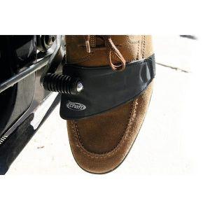 Prot/ège Chaussure Moto Protection de Chaussure en Caoutchouc Housse de Chaussure de Moto pour Levier de Vitesses Anti-Abrasion Moto