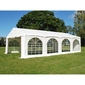 TONNELLE - BARNUM Tente de réception Original 5x8m PVC,