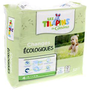 COUCHE Les Tilapins couches écologiques T4x32 couches