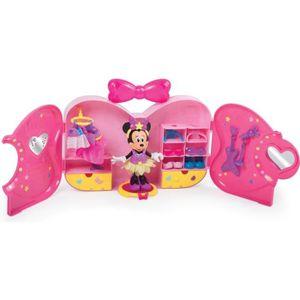 ACCESSOIRE DE FIGURINE Playset IMC TOYS  - Disney -Dressing portable Pops