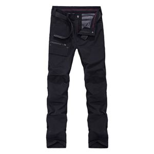 SOFTSHELL DE SPORT Pantalon Softshell Homme Imperméable de Alpinisme