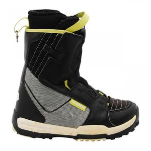 BOTTINE Boots junior Salomon Talapus noir/gris/jaune