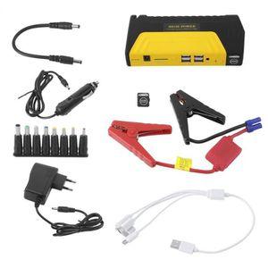 DEMARREUR Démarreur Batterie Chargeur voiture 12V 4USB 68800