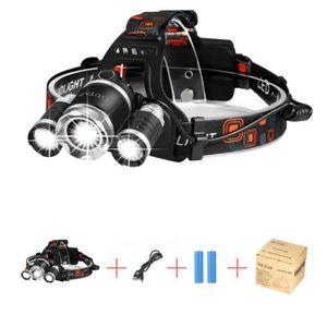 Noir m LED Lenser 500853 Lampe Frontale Rechargeable Mixte Adulte