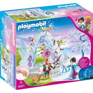 UNIVERS MINIATURE PLAYMOBIL 9471 - Magic Le palais de Cristal - Fron