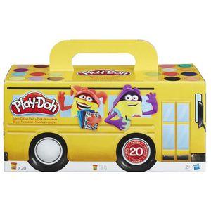 JEU DE PÂTE À MODELER Play-Doh Play-Doh-1-La pâte Super Colour Pack 20 P