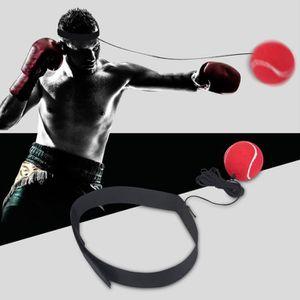 squarex Fight Boule avec Bandeau pour Reflex Vitesse de Boxe dentra/înement de Boxe Punch dexercice