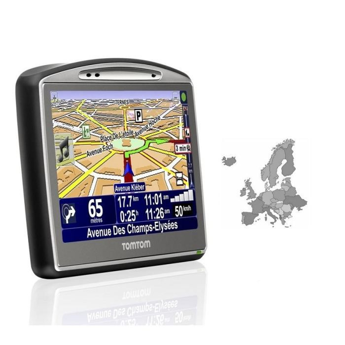 carte europe pour tomtom go 720